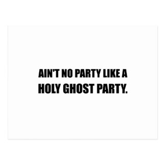 Holy Ghost Party Postcard