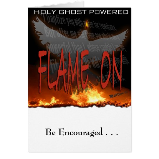 Holy Ghost Powered Card