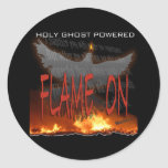 Holy Ghost Powered Classic Round Sticker