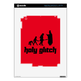 Holy Glitch Decal For iPad 3