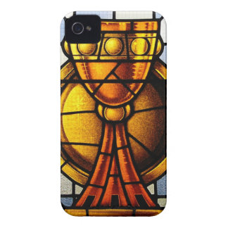 Holy Grail Stained Glass - Sacrament iPhone 4 Cases