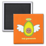 Holy Guacamole! 2 Inch Square Magnet