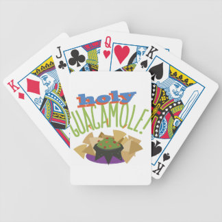 Holy Guacamole Bicycle Playing Cards