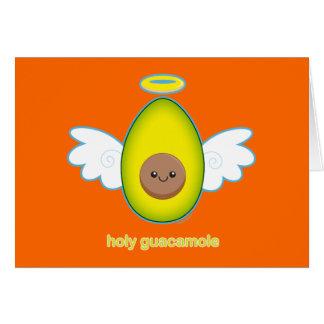 Holy Guacamole Card
