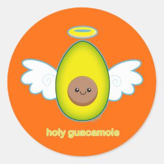 Holy Guacamole Classic Round Sticker