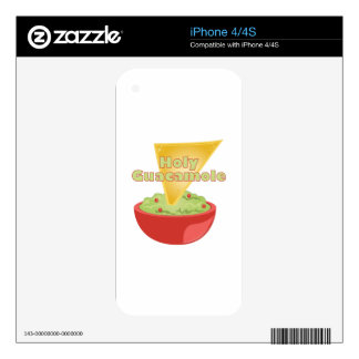 Holy Guacamole Decal For The iPhone 4