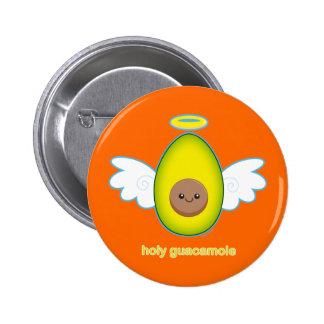 Holy Guacamole Pinback Button