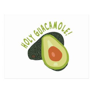 Holy Guacamole Postcard