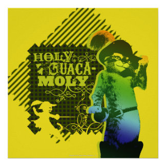 Holy Guacamole Poster