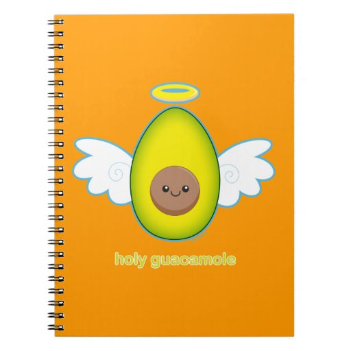 Holy Guacamole Spiral Note Books