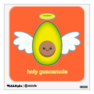 Holy Guacamole Wall Sticker