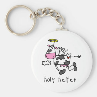Holy Heifer Tshirts and Gifts Keychains