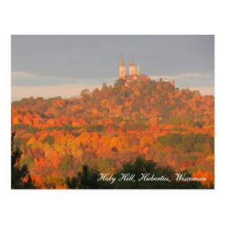 Holy Hill Fall Foliage Postcard