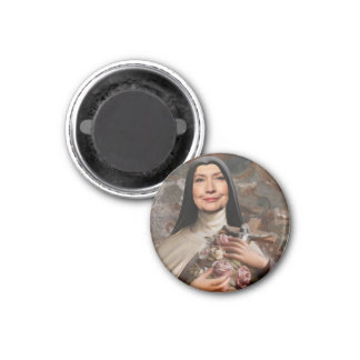 Holy Hillary for President 1 Inch Round Magnet