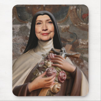 Holy Hillary for President Mouse Pad