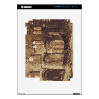 Holy Island Cathedral, engraved by Charles Turner Decals For iPad 3