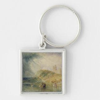 Holy Island, Northumberland, c.1820 (oil on canvas Keychain