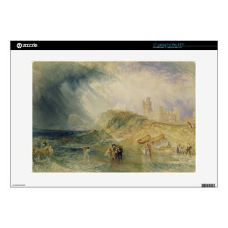 Holy Island, Northumberland, c.1820 (oil on canvas Laptop Skins