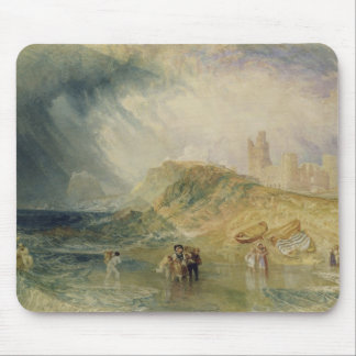 Holy Island, Northumberland, c.1820 (oil on canvas Mousepads