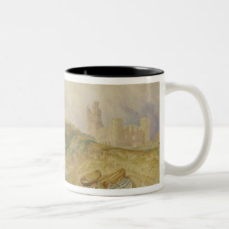 Holy Island, Northumberland, c.1820 (oil on canvas Two-Tone Coffee Mug