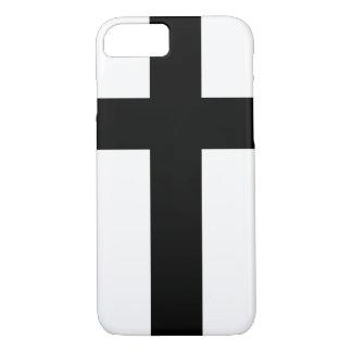 Holy Knight Black Cross iPhone 7 Case