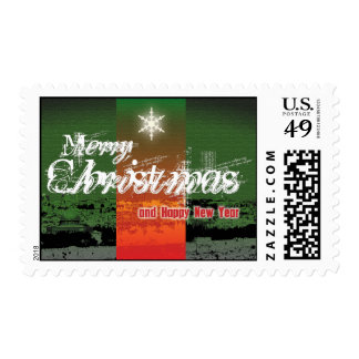 Holy Land Merry Christmas Card Stamp