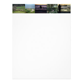 Holy Land Scenes and Images from Israel Personalized Letterhead