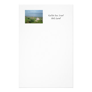 Holy Land Scenes and Images from Israel Stationery Paper
