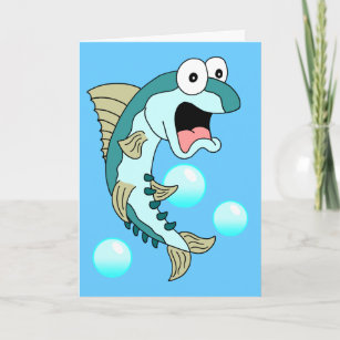 Holy Mackerel Youre 50 Funny 50th Birthday Card