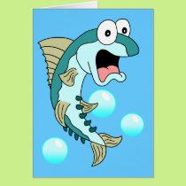 Holy Mackerel, You're 50! Funny 50th Birthday Card