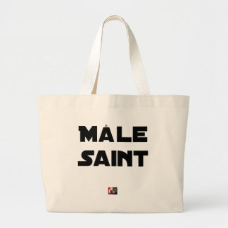 HOLY MALE - Word games - François City Large Tote Bag