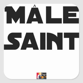 HOLY MALE - Word games - François City Square Sticker