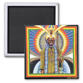 Holy Man  2 Inch Square Magnet