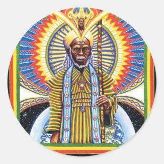Holy Man  Classic Round Sticker