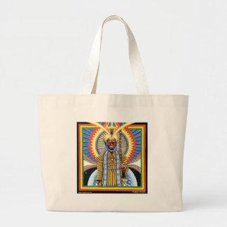 Holy Man  Large Tote Bag