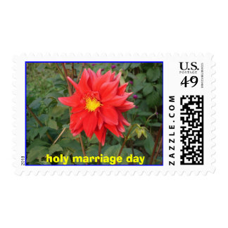 holy marriage day stamps