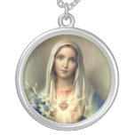Holy Mary Mother of God Personalized Necklace