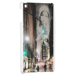 Holy Mary Prays at 42nd Street in New York iPad Mini Covers