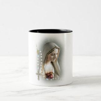"""Holy Mary"" TWO TONE MUG"