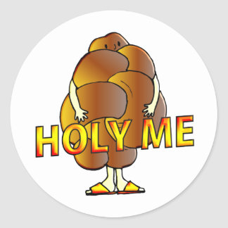Holy Me Classic Round Sticker