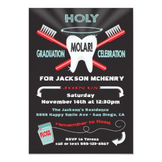 Holy Molar Dental Dentist graduation invites