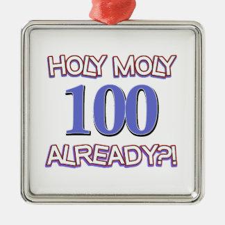 Holy Moly 100 already? Christmas Ornament