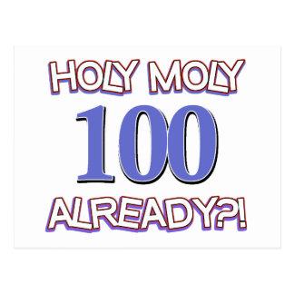 Holy Moly 100 already? Postcard