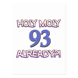 Holy Moly 103already? Postcard
