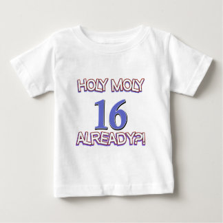 Holy Moly 16 already birthday Design Shirts