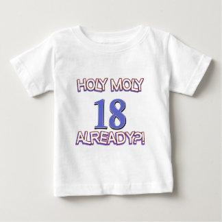 Holy Moly 18 already birthday Design Shirts