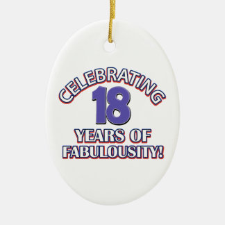 Holy Moly 18 already? Ceramic Ornament