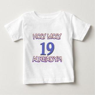 Holy Moly 19 already birthday Design Shirt