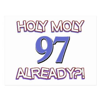 Holy Moly 97 already? Postcard