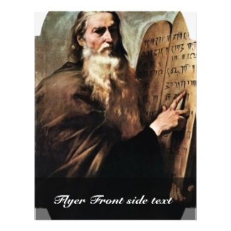 Holy Moses By Ribera José De (Best Quality) Flyer